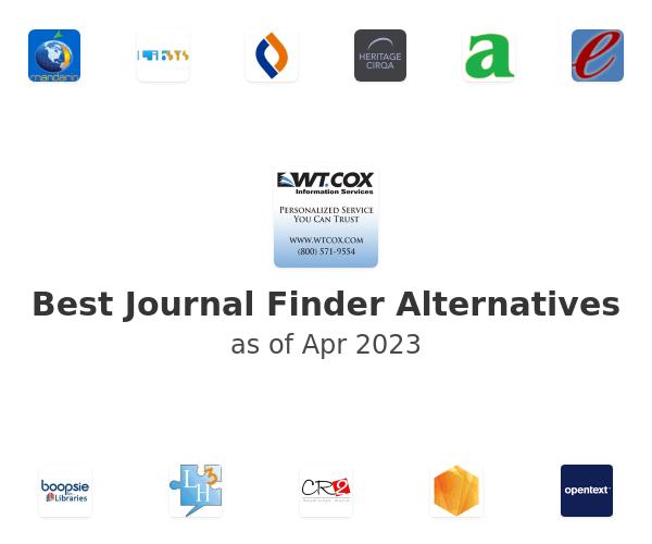 Best Journal Finder Alternatives