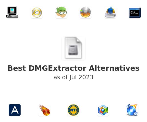 Best DMGExtractor Alternatives