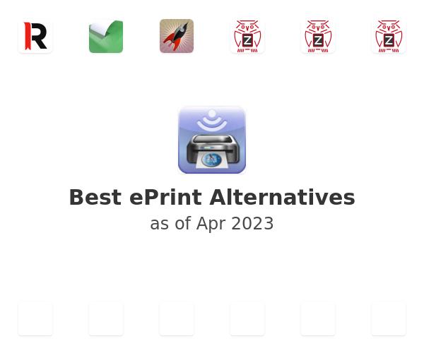 Best ePrint Alternatives