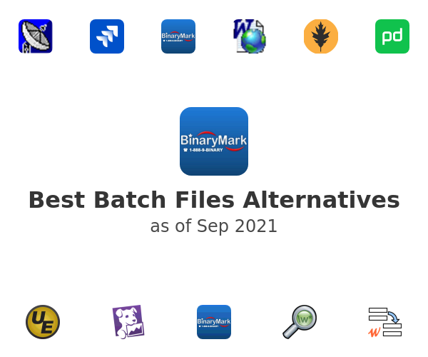 Best Batch Files Alternatives