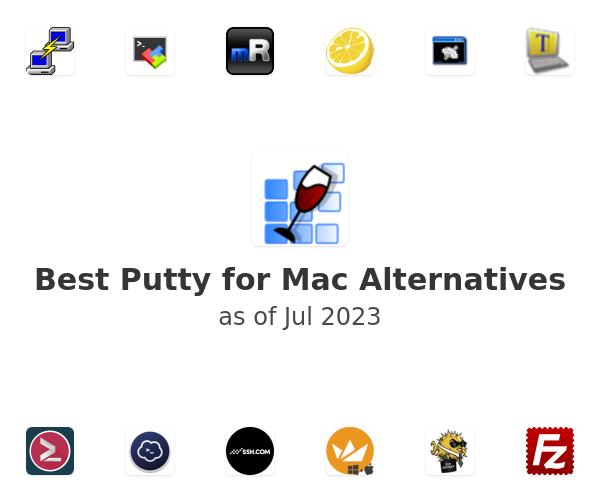 Best Putty for Mac Alternatives