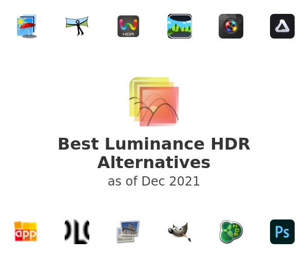 Best Luminance HDR Alternatives