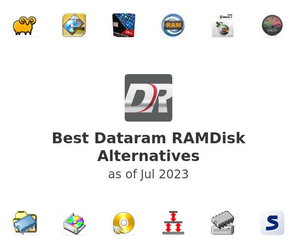 Best Dataram RAMDisk Alternatives
