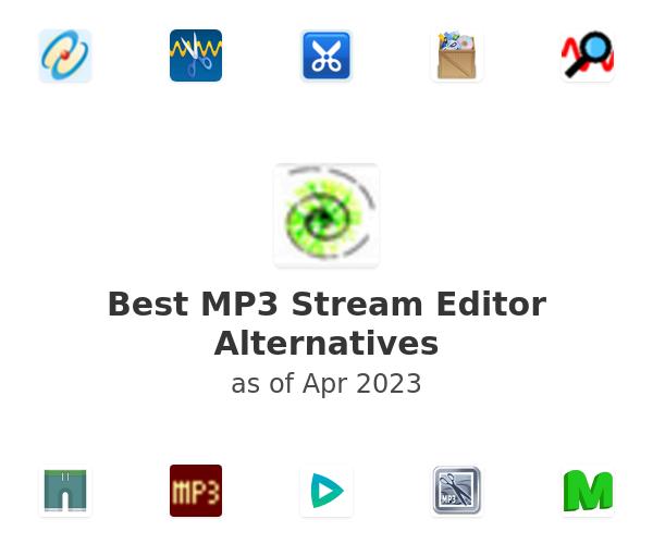 Best MP3 Stream Editor Alternatives