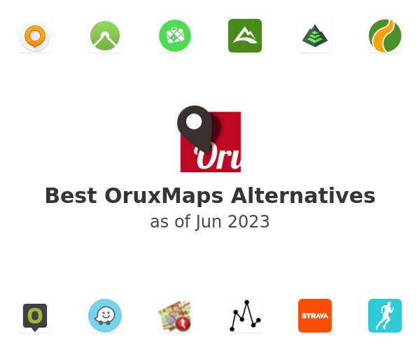 Best OruxMaps Alternatives