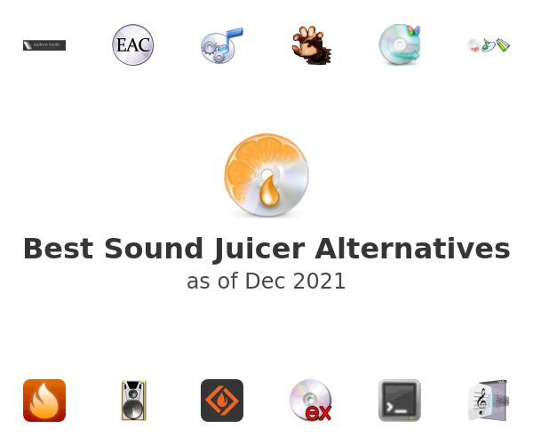Best Sound Juicer Alternatives