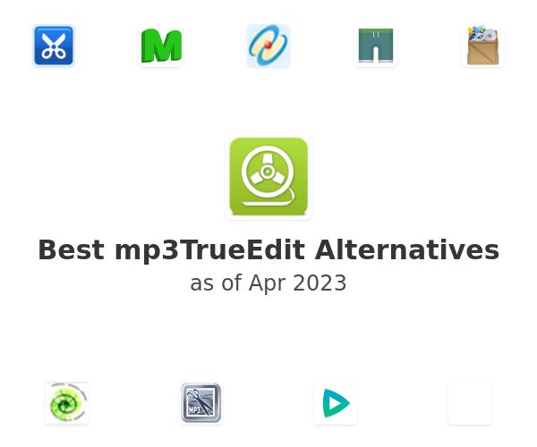 Best mp3TrueEdit Alternatives