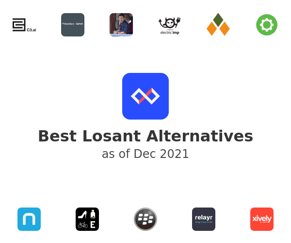Best Losant Alternatives