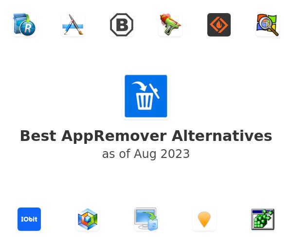 Best AppRemover Alternatives