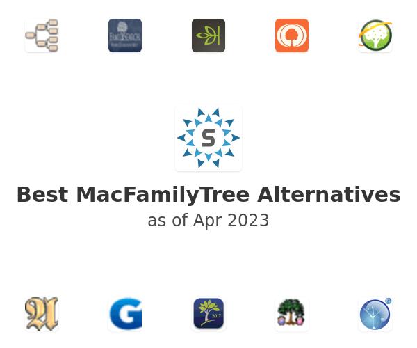 Best MacFamilyTree Alternatives