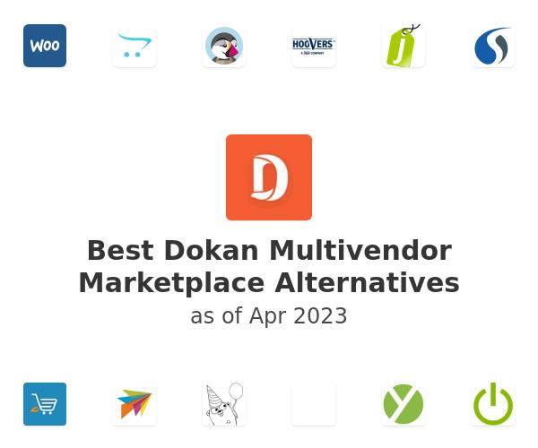 Best Dokan Multivendor Marketplace Alternatives