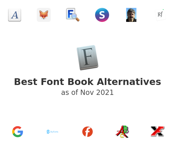 Best Font Book Alternatives