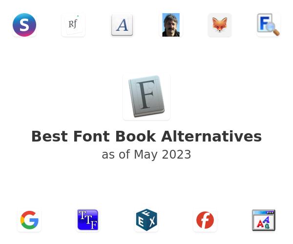 Best Font Book Alternatives