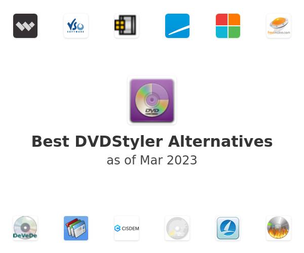 Best DVDStyler Alternatives