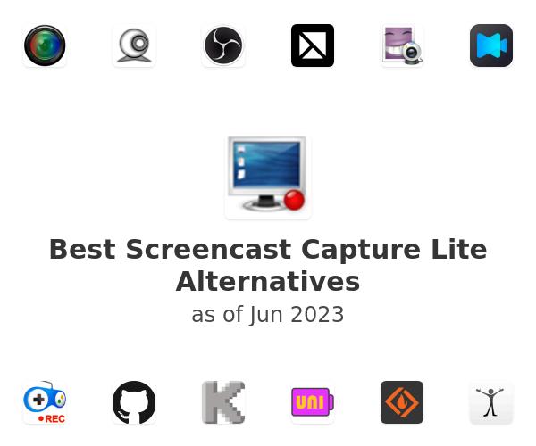 Best Screencast Capture Lite Alternatives
