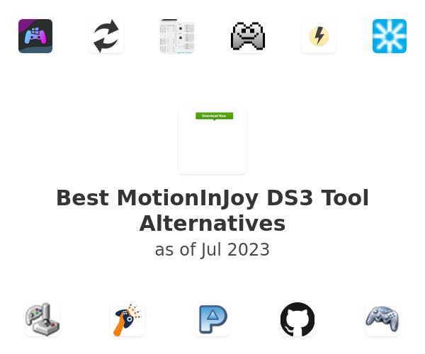 Best MotionInJoy DS3 Tool Alternatives