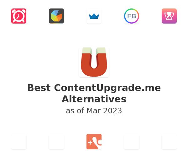 Best ContentUpgrade.me Alternatives