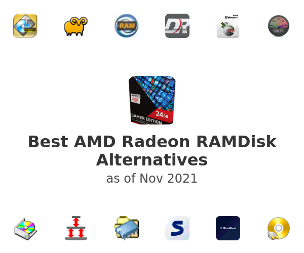 Best AMD Radeon RAMDisk Alternatives
