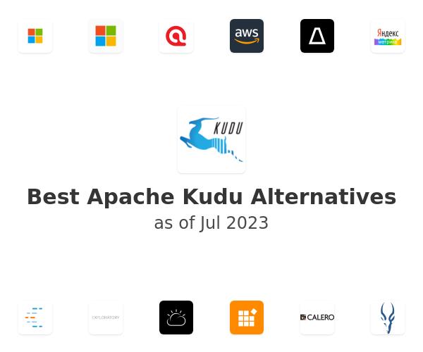Best Apache Kudu Alternatives