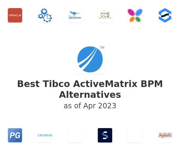 Best Tibco ActiveMatrix BPM Alternatives