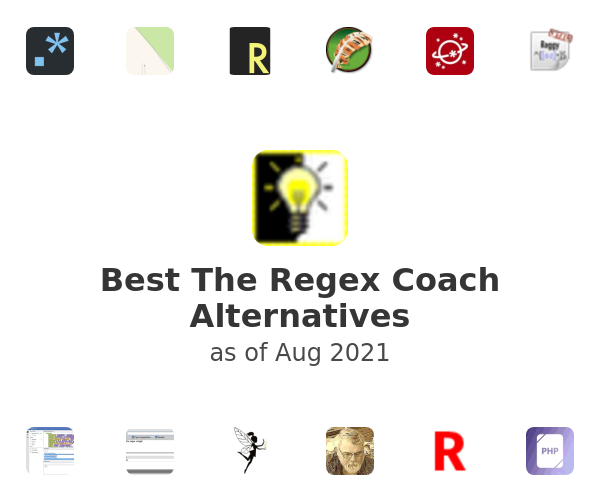 Best The Regex Coach Alternatives