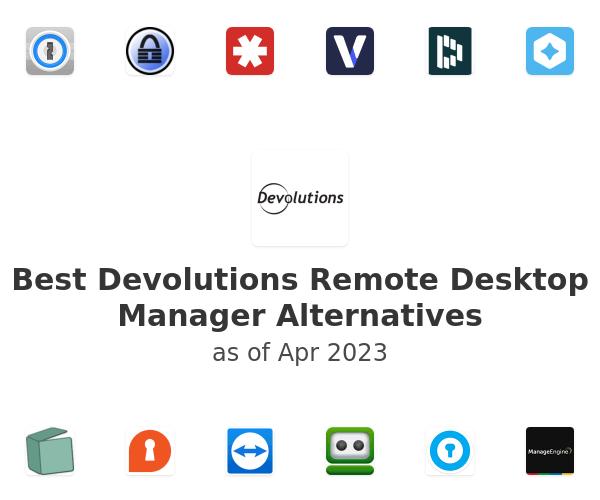 Best Devolutions Remote Desktop Manager Alternatives