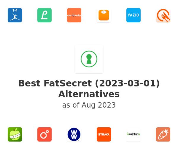 Best FatSecret Alternatives