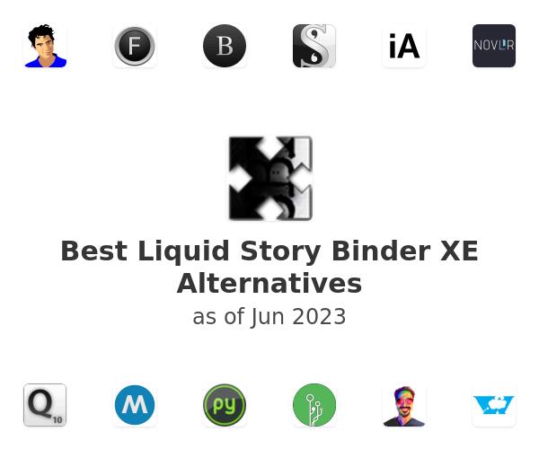 Best Liquid Story Binder XE Alternatives