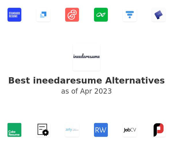 Best ineedaresume Alternatives