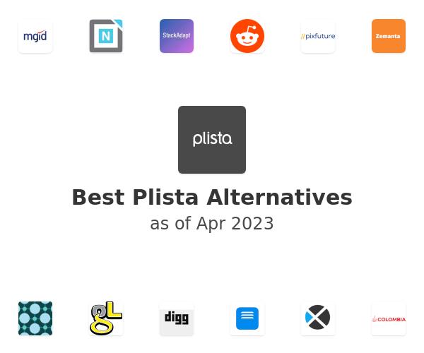 Best Plista Alternatives