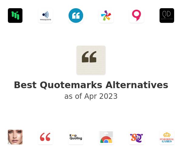 Best Quotemarks Alternatives