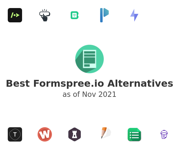Best Formspree.io Alternatives