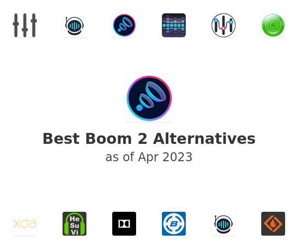 Best Boom 2 Alternatives