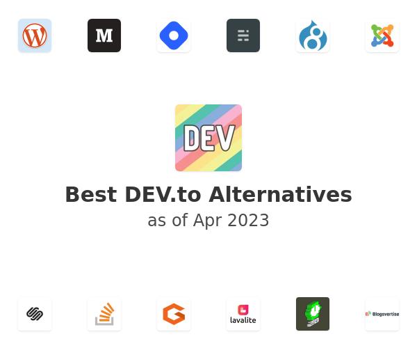 Best DEV.to Alternatives