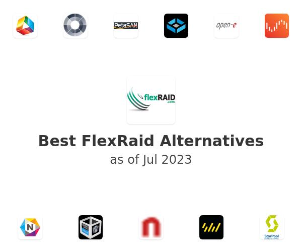 Best FlexRaid T-Raid Alternatives
