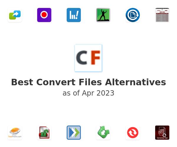 Best Convert Files Alternatives