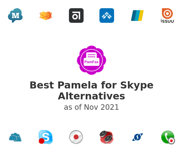 Best Pamela for Skype Alternatives