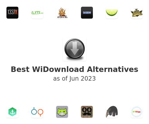 Best WiDownload Alternatives