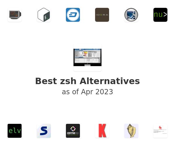 Best zsh Alternatives