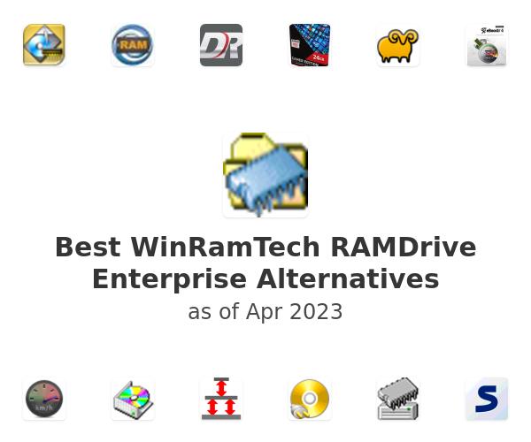 Best WinRamTech RAMDrive Enterprise Alternatives