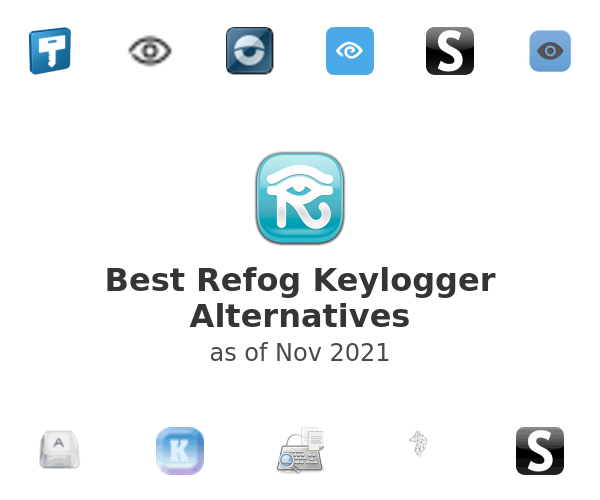 Best Refog Keylogger Alternatives