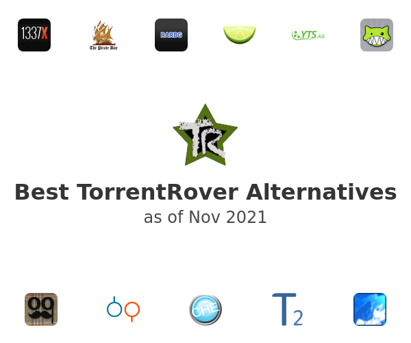 Best TorrentRover Alternatives