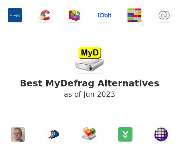 Best MyDefrag Alternatives