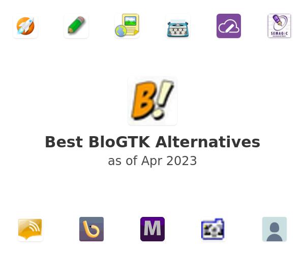Best BloGTK Alternatives