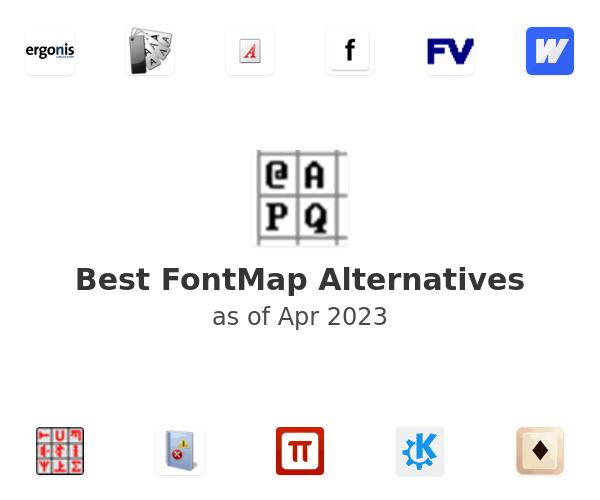 Best FontMap Alternatives