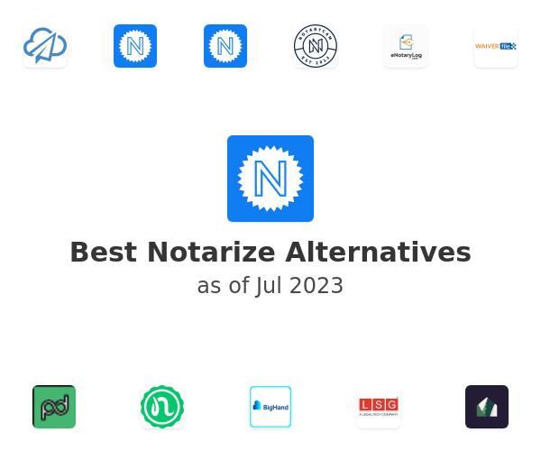 Best Notarize Alternatives