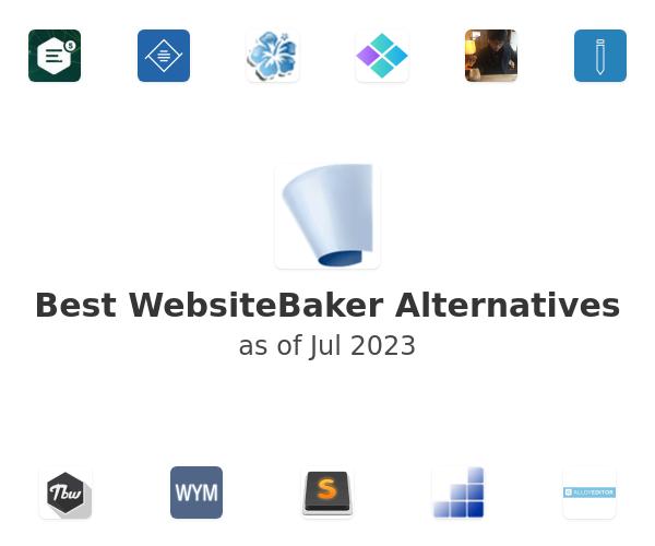 Best WebsiteBaker Alternatives