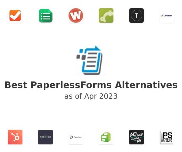 Best PaperlessForms Alternatives