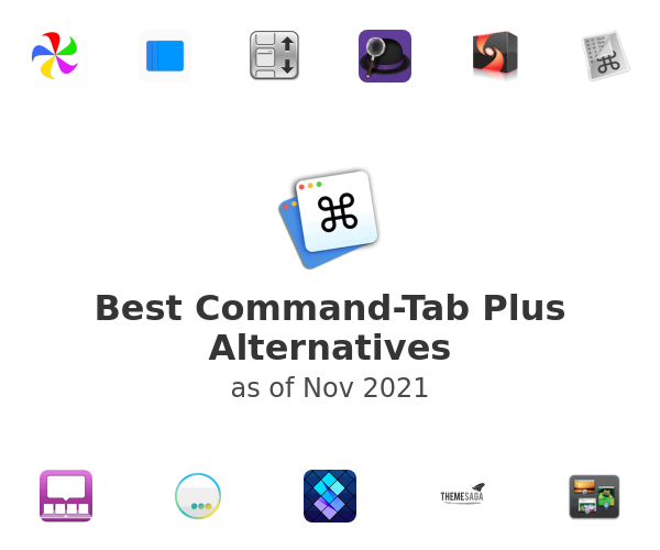 Best Command-Tab Plus Alternatives