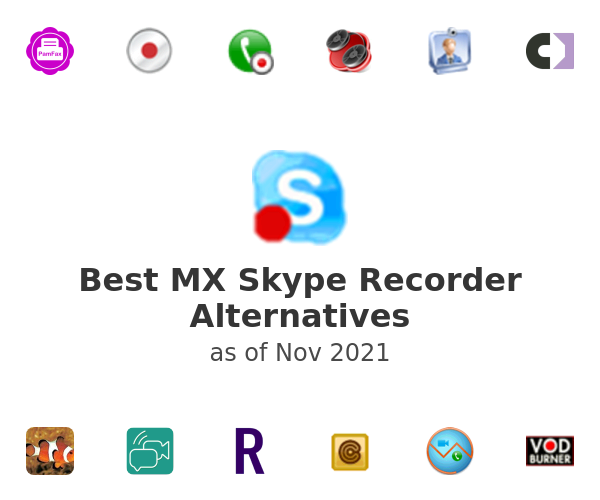 Best MX Skype Recorder Alternatives